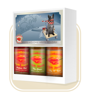 Holiday Gift Box from Horsetooth Hot Sauce - spice up your holiday season with a hot sauce gift box from Horsetooth Hot Sauce